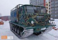 Гусеничный вездеход ГАЗ-66 Егоза