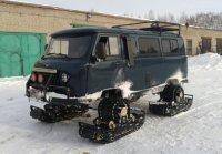 Гусеницы для автомобиля: ВГД вместо колёс