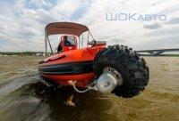 Катер на колесах: лодка-амфибия Sealegs