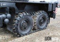 Гусеницы на колёса грузовика