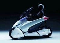 Трехколесный электромобиль Honda 3R-C