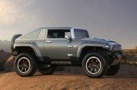 Hummer HX Concept с изменяемой внешностью