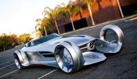 Серебряная молния от Mercedes для Голливуда