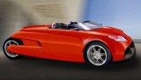 Трехколесный электромобиль R3 с IPAD