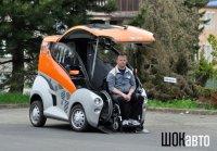 ELBEE: автомобиль для инвалидов