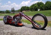 Чоппер Hubless Monster с колесами без спиц