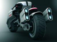Электромотоцикл Honda Chopper