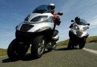 Гибридный скутер Piaggio МР3 Hybrid