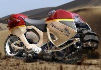 Гусеничный мотоцикл Hyanide