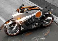 Концепт мотоцикла Dacoit от Nitin Design