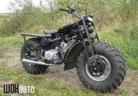 Мотоцикл-вездеход Васюган 2WD