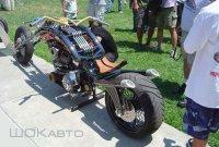 Прозрачный мотоцикл Saga