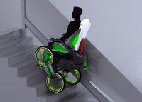 Инвалидная электрическая коляска DEKA iBot
