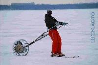 Моторизованный толкатель лыжника Ski-Broo