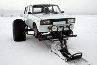 Снегомобиль SnowFootCar из Жигулей