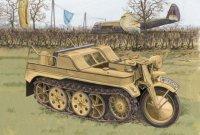 Военный гусеничный мотоцикл Kettenkrad