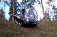 Гусеничный вездеход Итлан: снегоход с кабиной