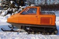 Лыжно-гусеничные снегоходы ТТМ Беркут из Оки