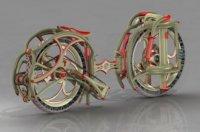 Оригинальный складной велосипед Dubike