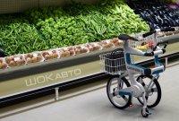Велосипед-корзина для супермаркетов