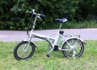 Складной велосипед Eltreco Jazz с мотором