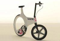 Велосипед Lunartic Cycle с безосевым колесом