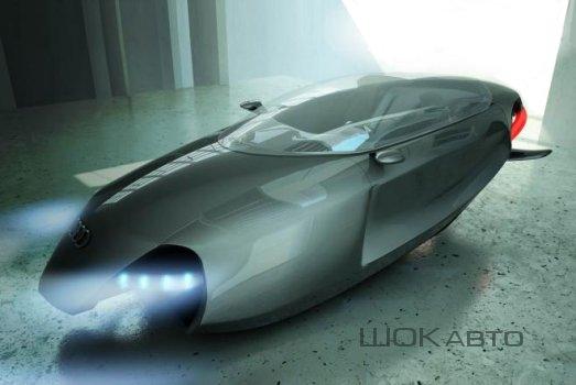 Летающий автомобиль Audi Shark