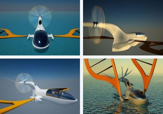 Плавающий самолет