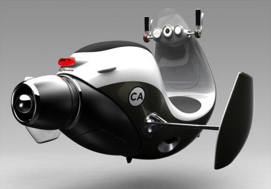 Воздушный скутер