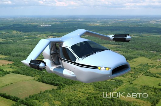 Летающее авто Terrafugia TF-X