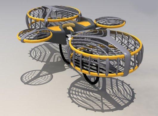 Летающий велосипед Designyourdreams