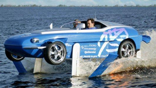 Аквамобиль Rinspeed Splash