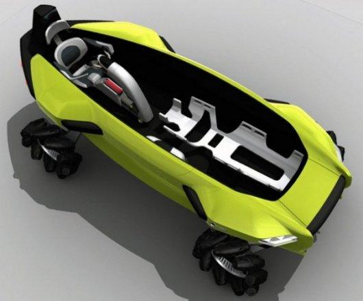 Спасательный автомобиль-автомобиль для пляжей