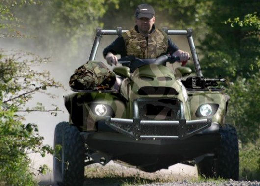 Военный гидроквадроцикл Quadski