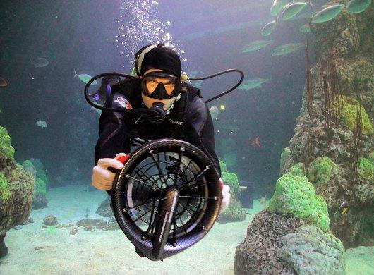 Подводные буксировщики Bladefish