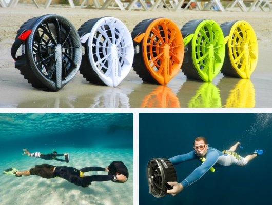Подводные электро-буксировщики Bladefish