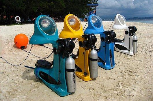 Подводные скутеры HydroBOB