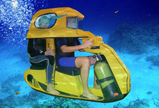 Подводный гидроскутер Aqva Star