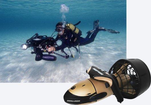 Подводный буксировщик Supercharged