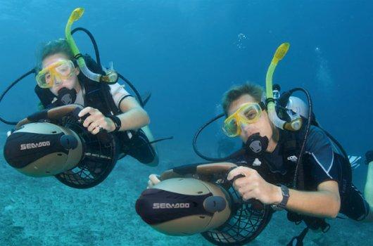 Подводные буксировщики Sea Doo
