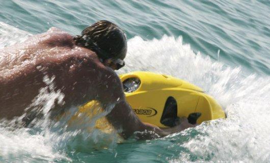 Подводный аквабайк Seabob