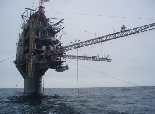 Плавучая платформа-обсерватория Флип