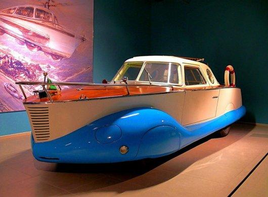 Лодка-автомобиль Фиат 1100
