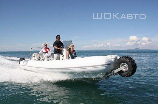 Лодка-амфибия Sealegs