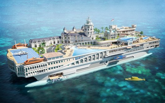 Корабль-государство Streets of Monaco (яхта)
