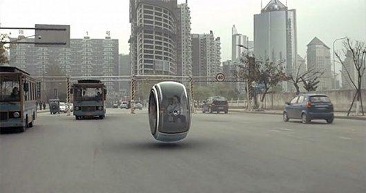 Volkswagen на магнитном поле