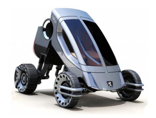 Автотрансформер Peugeot-888 для любых дорог
