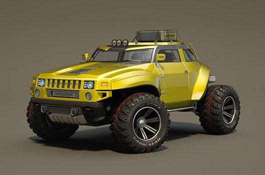 Concept Car Hummer HB
