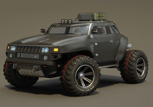 Super Car Hummer HB