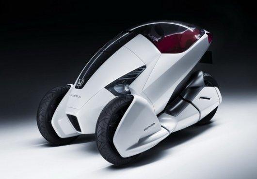 Трехколесный электромобиль 3R-C